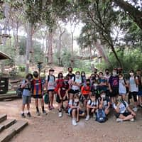 5è: Sortida d'aventura al Parc Castell Jalpí d'Arenys de Munt.